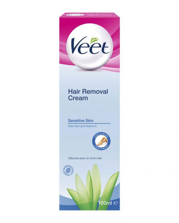 Veet Hair Removal Cream Sensitive Skin 6 X 100 Grams Naveed