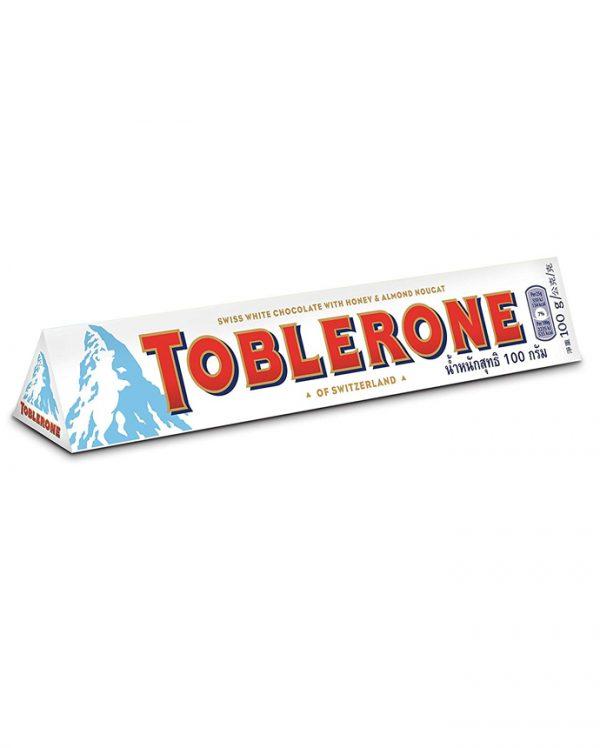 Toblerone White Chocolate 20 X 100 Grams